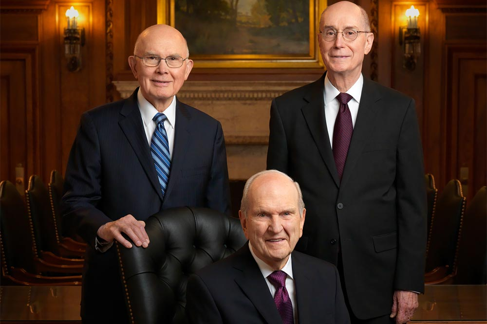 Image result for typical Mormon presidency
