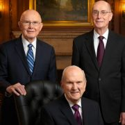LDS first presidency march 2018