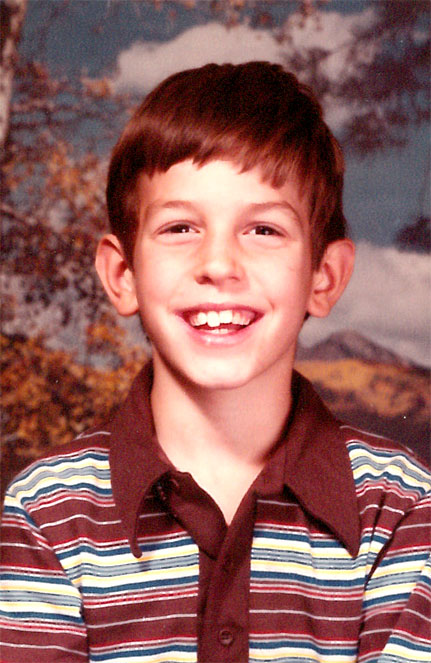 Jimmy Smith third grade photo 1984-1985 school year