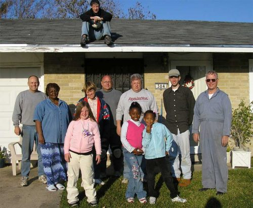 Hurricane Katrina Relief Trip to New Orleans Louisiana December 2006