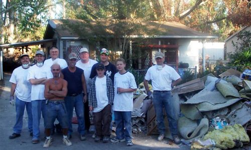 Hurricane Katrina Relief Trip to Slidell Louisiana November 2005