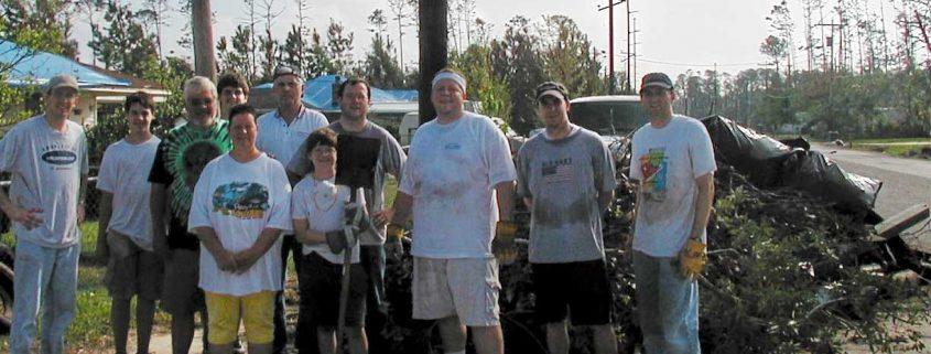 Hurricane Katrina Relief Trip to Waveland Mississippi October 2005