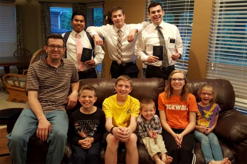 elder sanchez and rowell with smith family rockwall texas may 2018