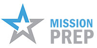 Mission Prep Logo Star Blue
