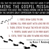 dragging your feet when it comes to sharing the gospel